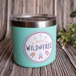 Wild and Free - Waterproof Vinyl Sticker