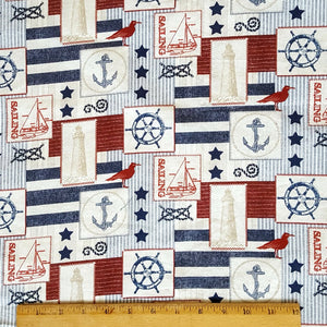Seas The Day - Reversible Bandana