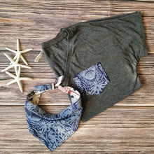 Load image into Gallery viewer, Boxy V-Neck & Bandana - Matching Sets
