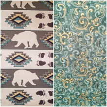 Load image into Gallery viewer, Bear Necessities - Reversible Bandana