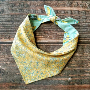 Bananas For You - Reversible Bandana