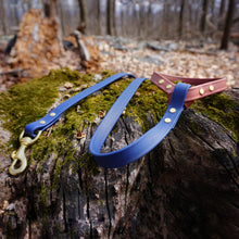 Load image into Gallery viewer, The Mountaineer Leash - Rainier Blue