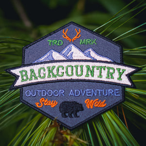 Backcountry - Embroidered Patch