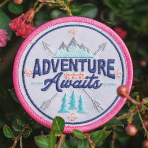 Adventure Awaits - Embroidered Patch
