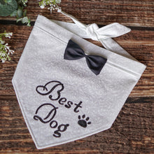 Load image into Gallery viewer, Dog of Honor/Best Dog - Wedding Bandana