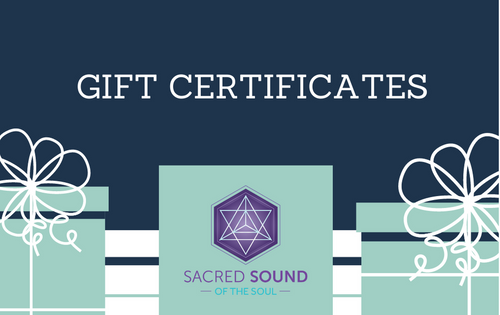 Sacred Sound of the Soul Gift Card