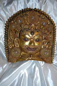 Mahakala Ceremonial Mask