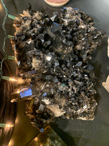 Cluster - Large Smokey Quartz Alcehmy Cluster A4