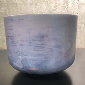 "10"" G#+15 Lavender Sunset Gold Bowl"