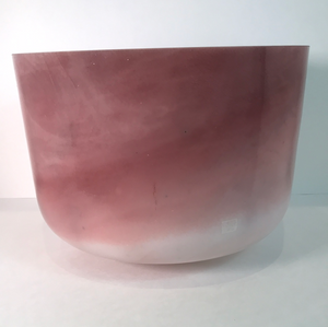 "12"" D#+10 Rose Quartz Bowl 82694"