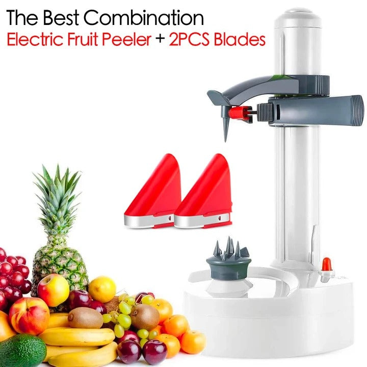 【🔥Buy 2 Free Shipping】10 Seconds Quick Peeling-Stainless Steel Electric Fruit Peeler