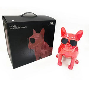 FRENCH BULLDOG WIRELESS BLUETOOTH SPEAKER