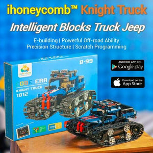 ihoneycomb™ Knight Truck - Intelligent Blocks Truck Jeep
