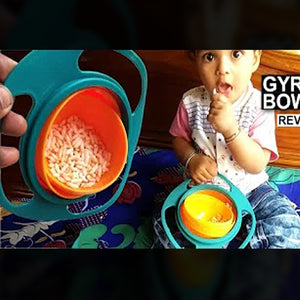 Never Spilling Baby Training Bowl