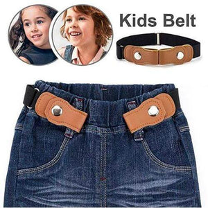 【Buy 1 and Get 1 FREE】Buckle-Free Elastic Kids Belt | Perfect For Kids' Uniform, Pants, Jeans