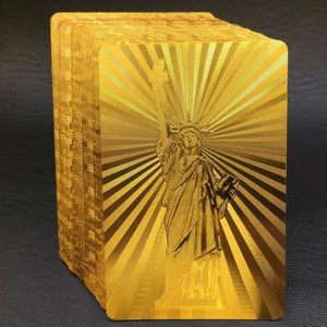 Luxury 24K Gold Foil Poker Playing Cards (Buy 3 Free Shipping)