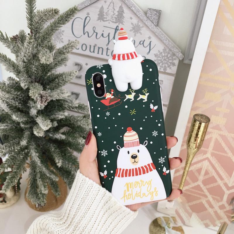 Hot Selling!!!Christmas Theme  Soft TPU Phone Cases