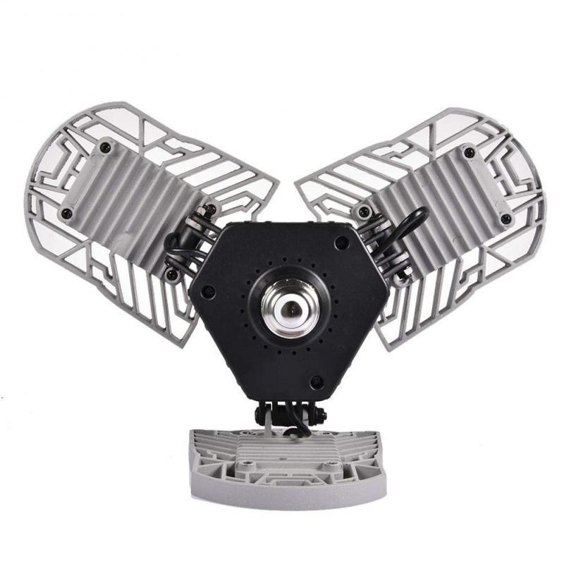 Silver SoBright LED Light with 3 Adjustable Panels