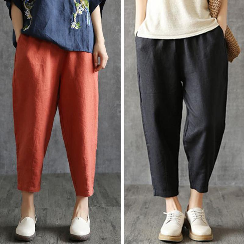 【Buy 1 Free 1】 Loose Linen Pants For Women Fashion