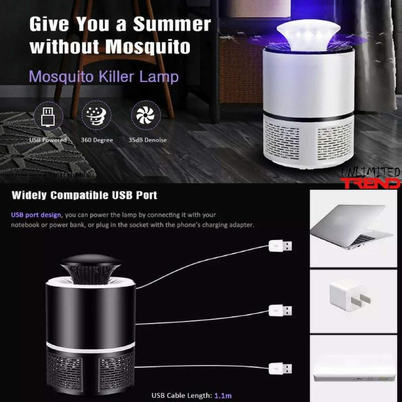 LED mosquito killer lamp, quiet and non-toxic