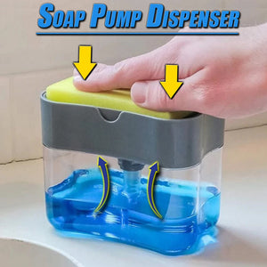 2 in 1 Soap Dispenser
