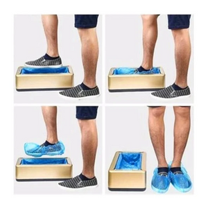 Automatic Shoe Cover Dispenser Automatic Shoe Covers Machine Home Office One-time Film Machine Foot Set New Shoes