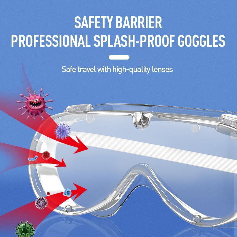 Fully Closed Anti-spitting Splash Goggles