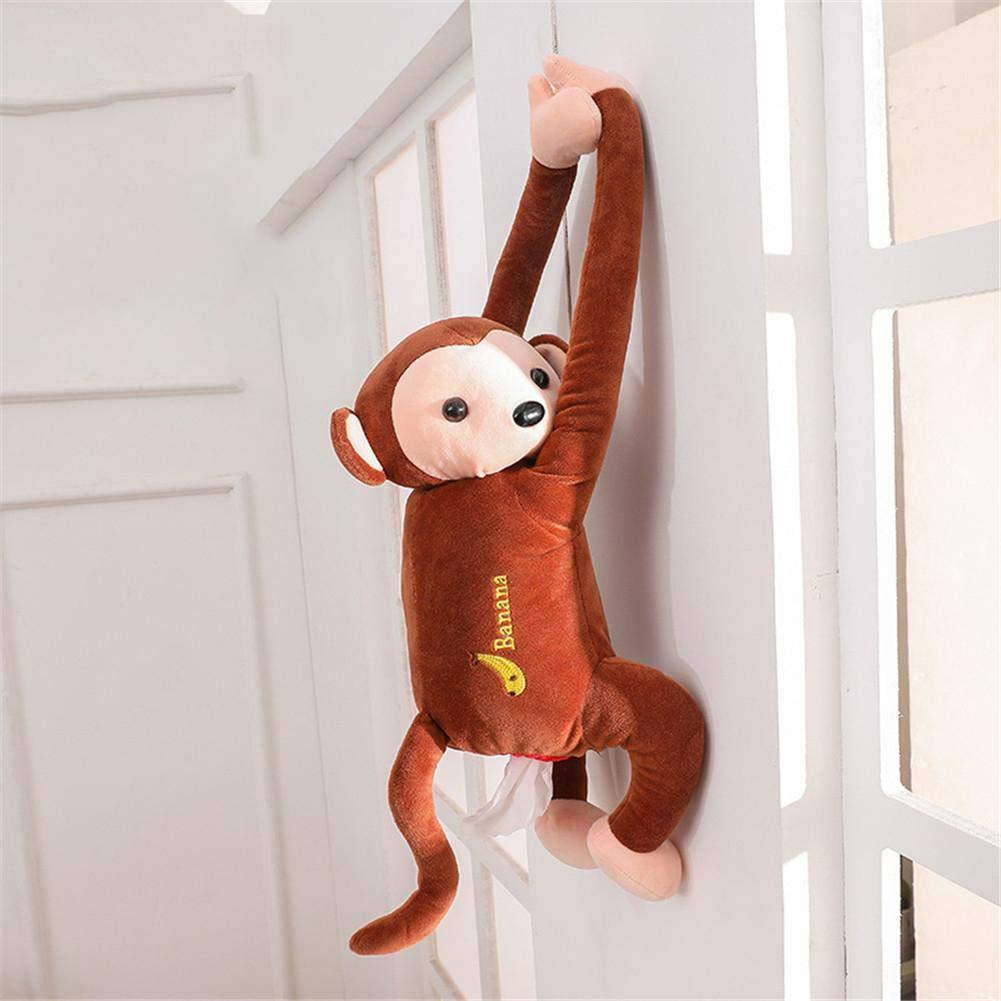 Hang and pull ! Creative Monkey Tissue Box