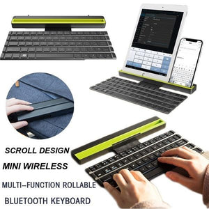 Foldable Bluetooth Keyboard for Tablet and Phone