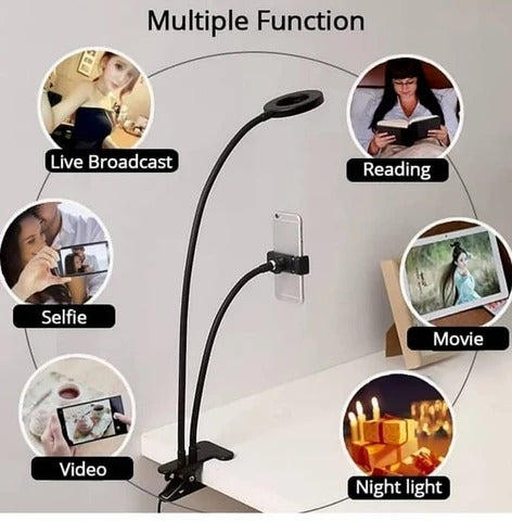 【🔥Free Shipping】-Professional Portable LED Light with Cell Phone Holder™(-BUY2 EXTRA SAVE $10)