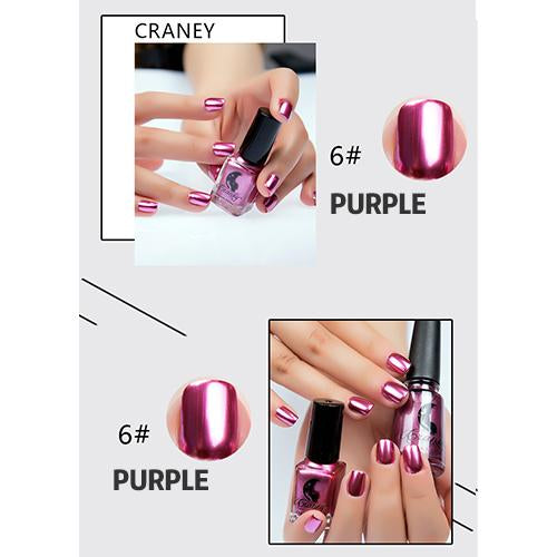 Last Day Promotion(Buy 3 Get 1 FREE) - Mirror Nail Polish