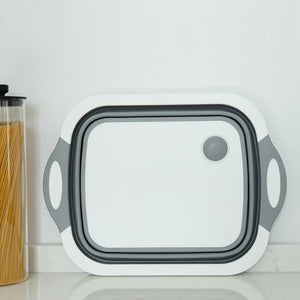Folding Cutting Board With Basket(50%OFF)