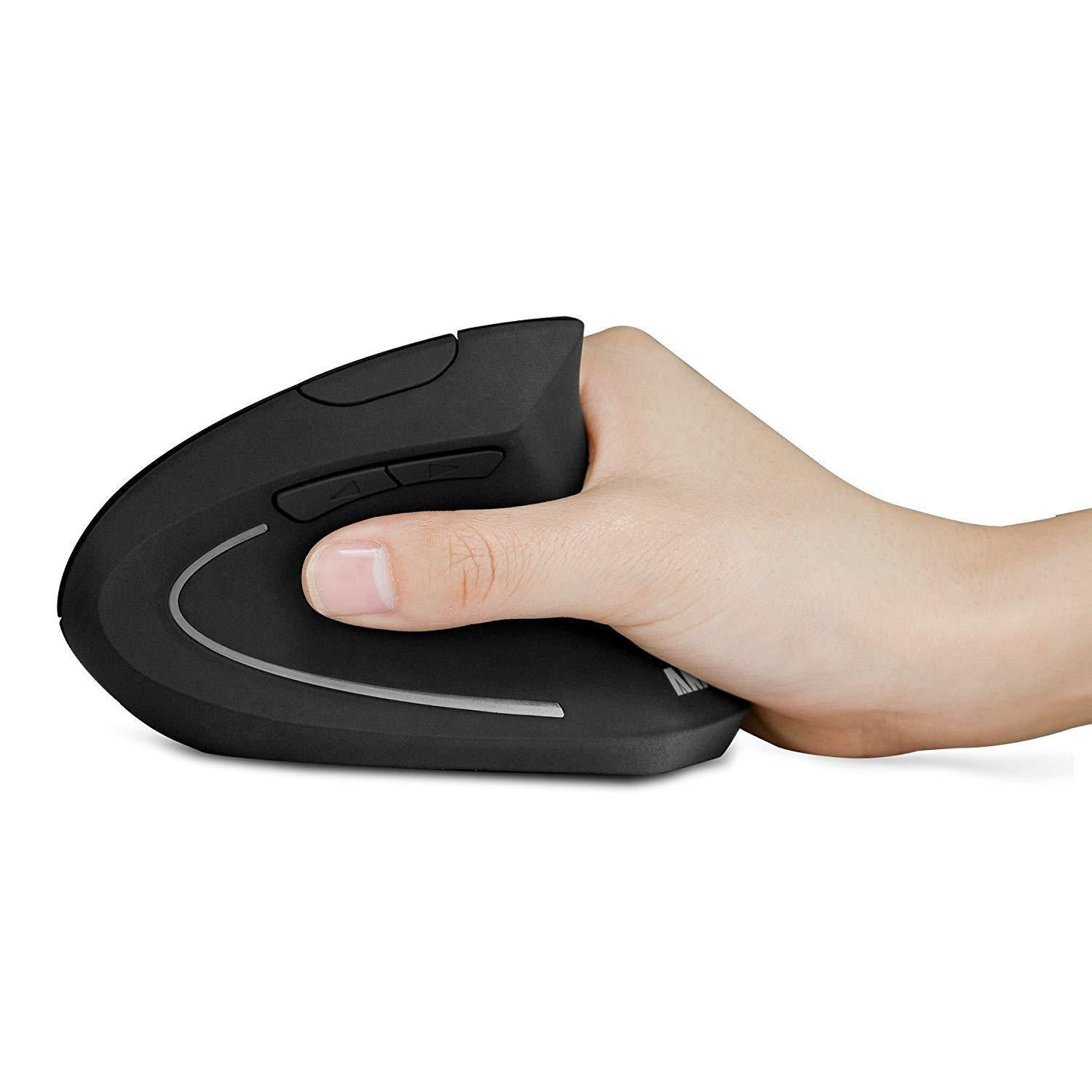 VERTICAL ERGONOMIC WIRELESS MOUSE(Buy 2 Free Shipping)