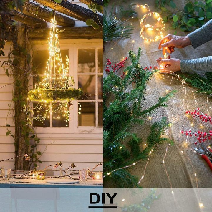 Christmas Firefly Bunch Lights