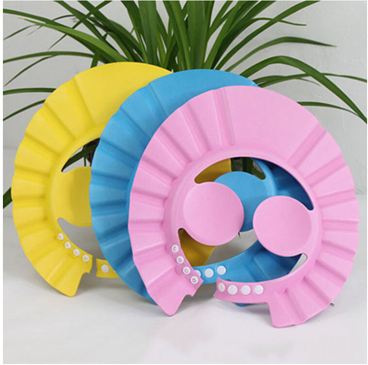 Adjustable Prevent Water Into Ear Baby Waterproof Shampoo Caps,buy 2 free shipping!