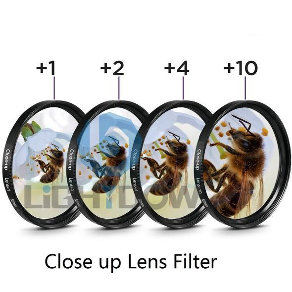 [Buy 2 Get Free Shipping] Close Up Lens Filter ( +1  +2  +4  +10 )
