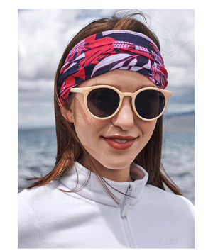 Sun protection trend printing multifunctional headscarf