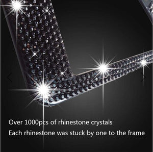 CRYSTAL HANDCRAFTED BLING LICENSE PLATE FRAME(BUY 2 FREE SHIPPING)