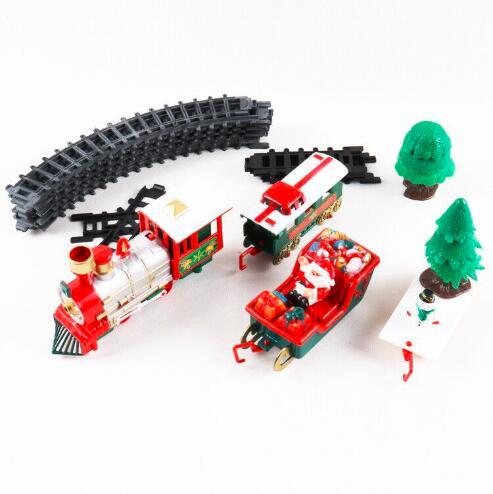 Electric Music Christmas Train Set - Sing Around The Tree