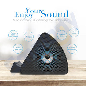 Wireless portable mini smart sensor speaker