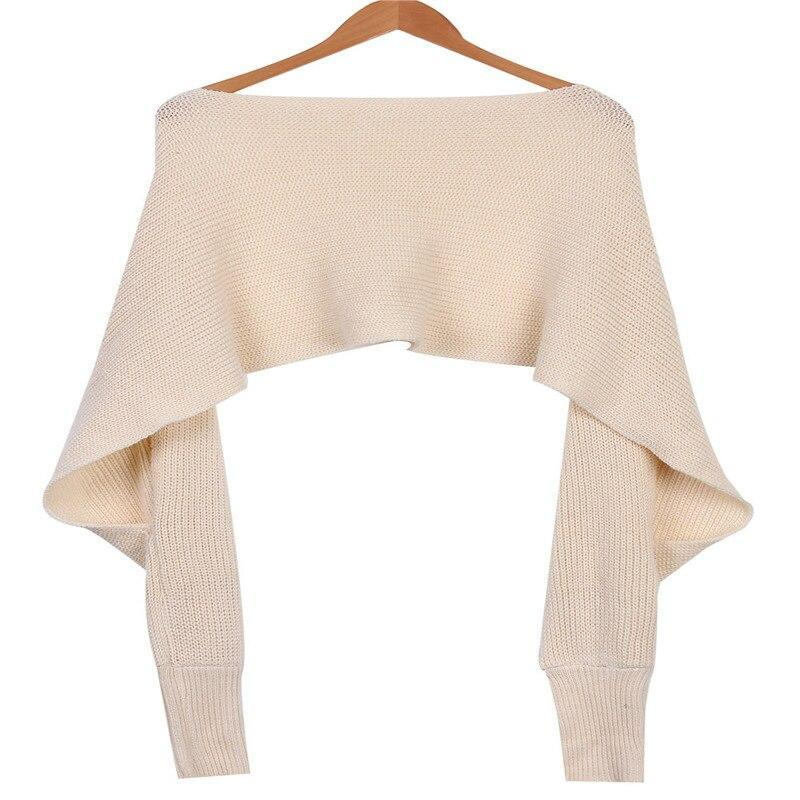 Women Warm Sexy V Neck Wrap Chunky Knitted Sweaters