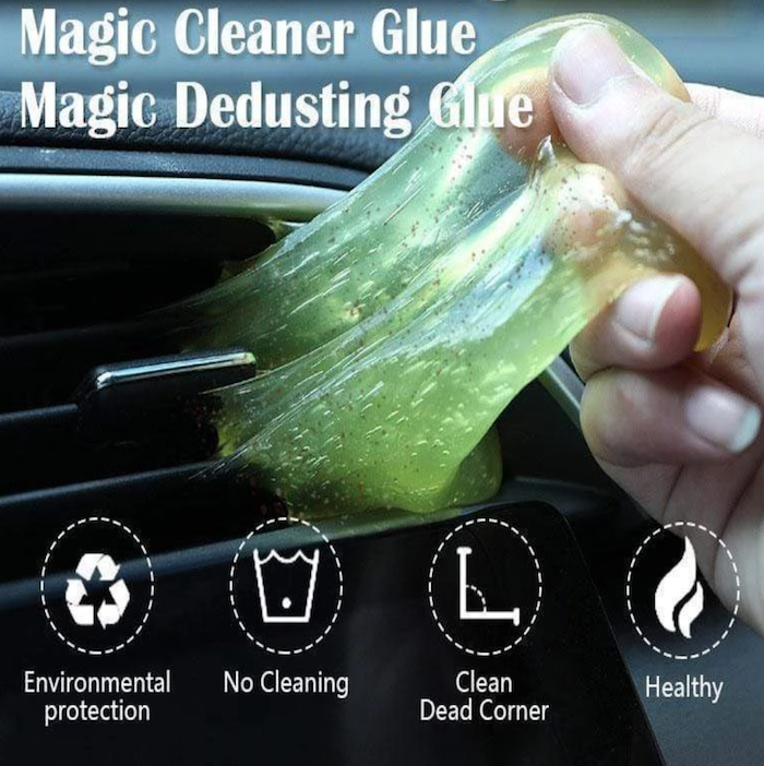 Magical Dust Cleaning Glue