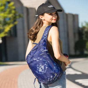 Lightweight  Fold-able Backpack