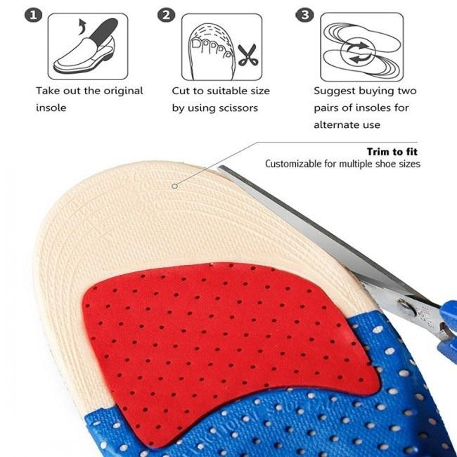 PRO-Comfort™ 90X Support Anti Odor Insole