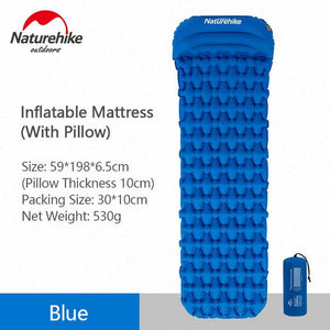 Outdoor Camping Inflatable Tent Sleeping Pad