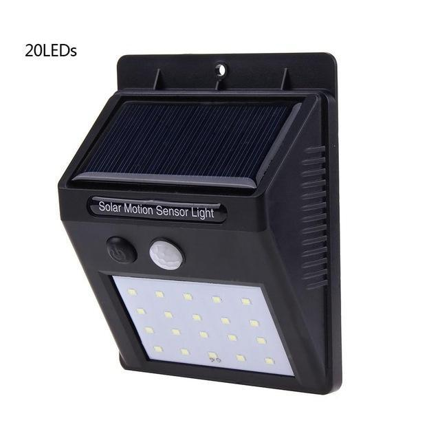 Waterproof Solar LED Wall Light with Motion Sensor