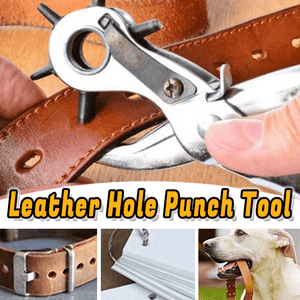 Leather Hole Punch Tool