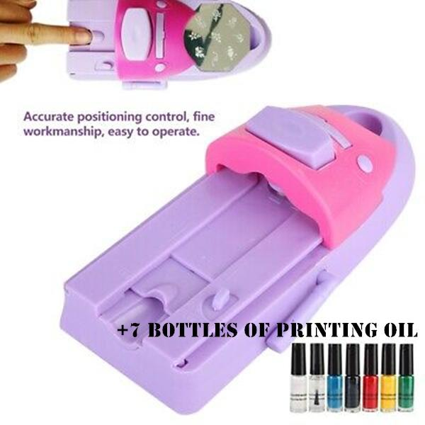 DIY Nail Art Drawing Machine💅