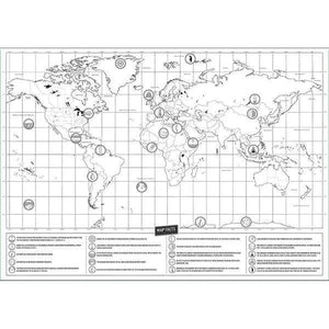Scratch Off World Map (2 Sizes)