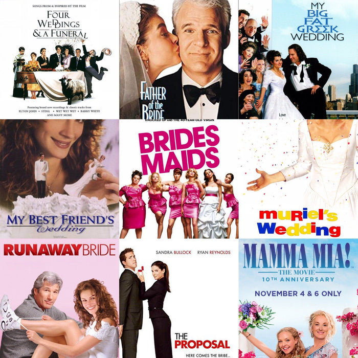 Top 12 Films About Weddings